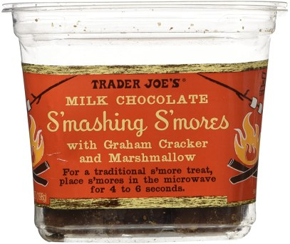 Trader Joe`s Milk Chocolate Smashing Smores with Graham cracker ...