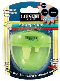 Sargent Art 3 Hole Pencil Sharpener