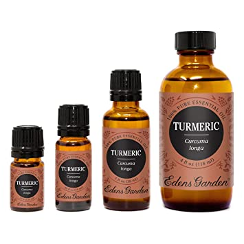 Edens Garden Turmeric Essential Oil, 100% Pure Therapeutic Grade (Highest Quality Aromatherapy Oils- Digestion & Detox)