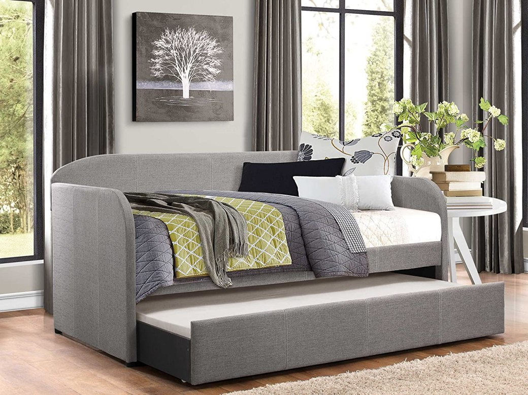 Homelegance Modern Design Daybed with Trundle.