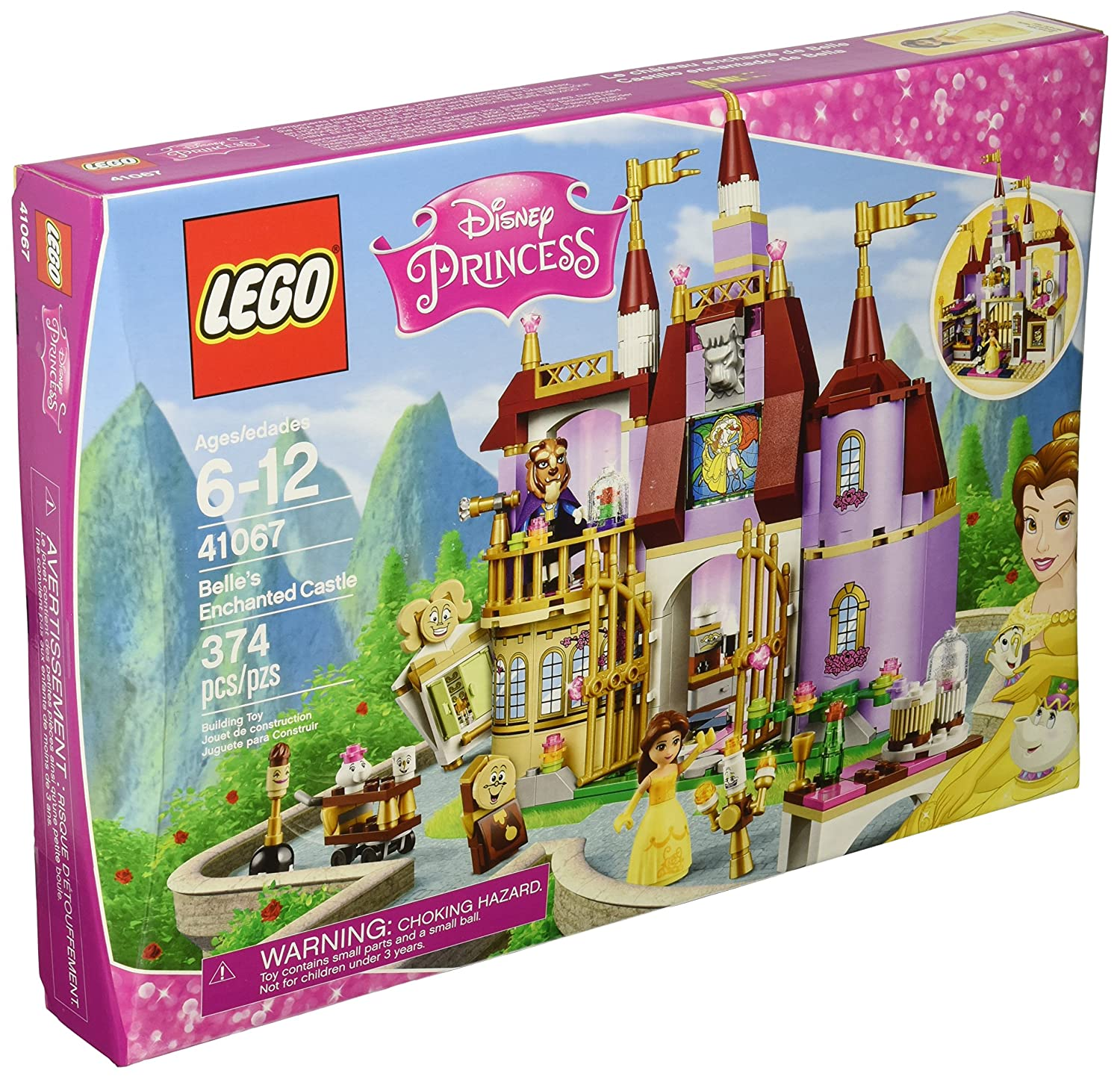 Belle's Enchanted Castle Building Kit