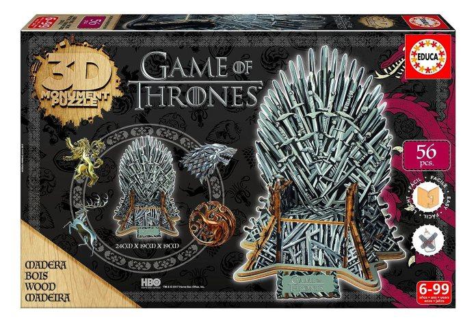 puzzle 3D Trono de hierro