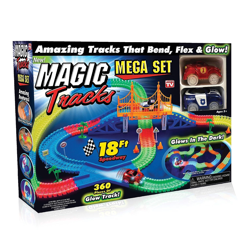 Ontel Magic Tracks Mega Set with 2 LED Race Car