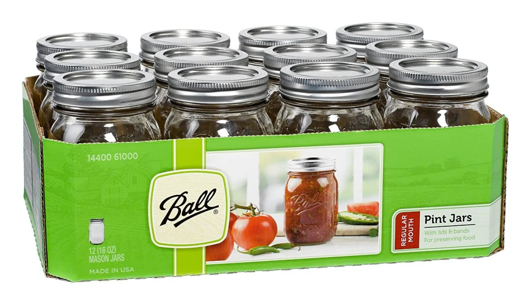 Mason Jars With Lids