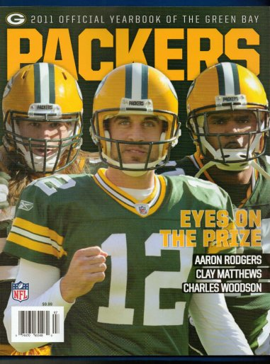 GREEN BAY PACKERS 2011 OFFICIAL YEARBOOK RODGERS MATTHEWS WOODSON (EYES ON THE PRIZE!): AARON RODGERS, CLAY MATTHEWS: Amazon.com: Books