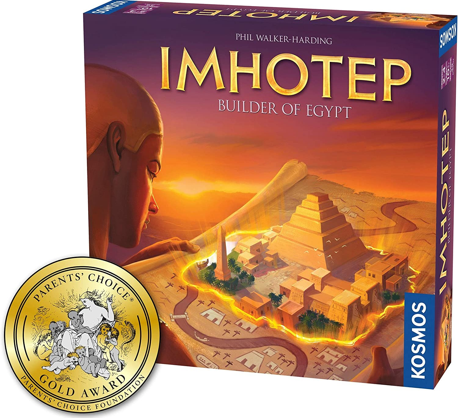 Imhotep Builder of Egypt | Family Board Game by Kosmos