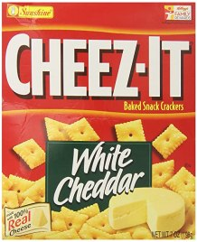 Sunshine Cheez-It White Cheese, 7 Ounce