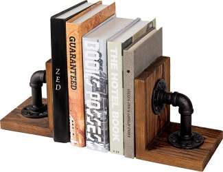 Writers are readers! Gift them a classic bookend for their bookshelves