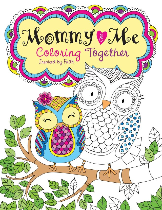 Amazon.com: Mommy and Me Coloring Together: Coloring Inspired by