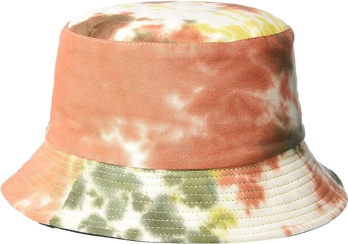 orange green yellow dip dye bucket hats amazon