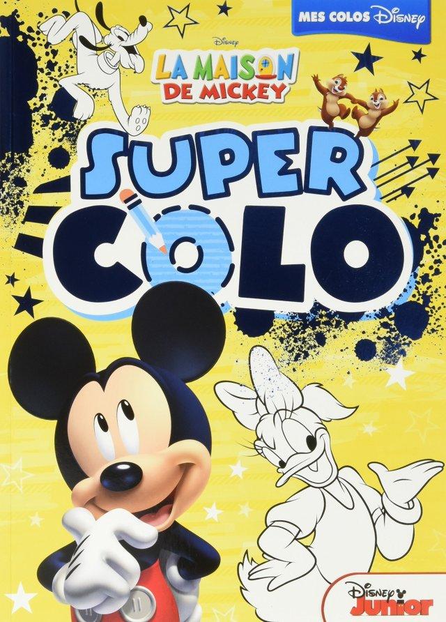 La Maison de Mickey, SUPER COLO (HJD COLORIAGES) (French Edition
