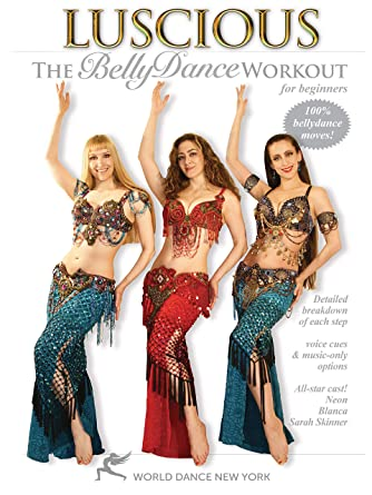Amazon.com: Luscious: The Belly Dance Workout for Beginners, with ...