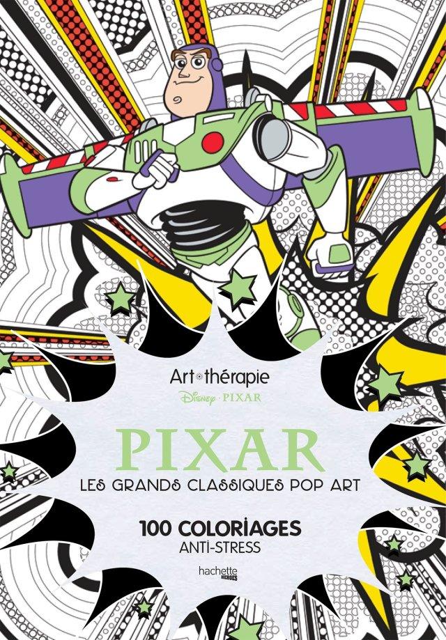 Art-thérapie Pixar: Les grands classiques pop art, 20 coloriages