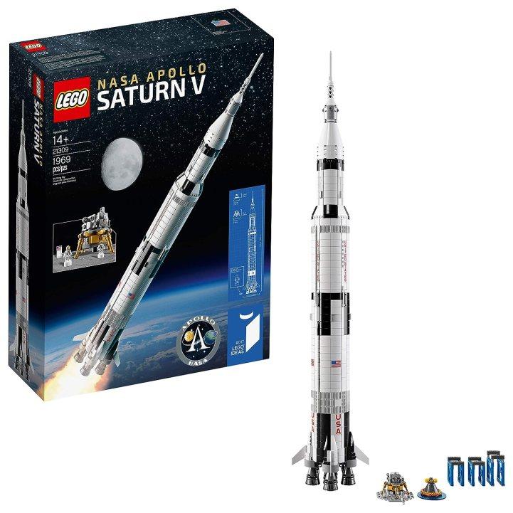 NASA Apollo Saturn V LEGO set