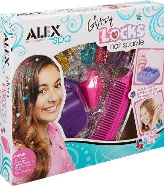girls and kids christmas gift ideas hair glitter sparkle