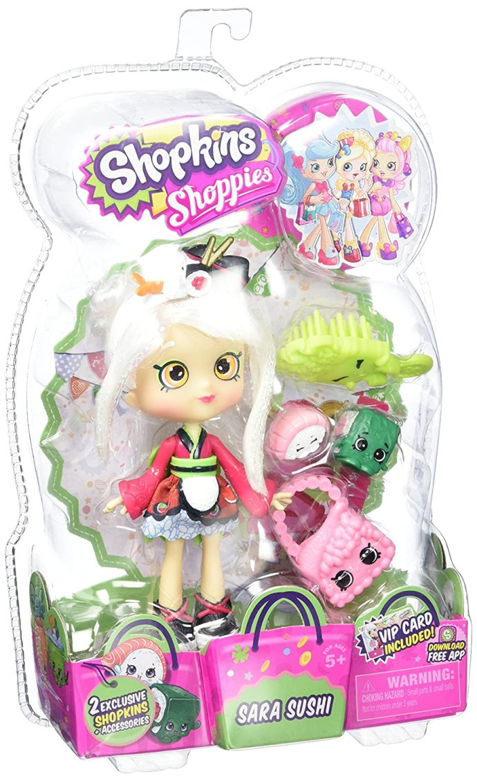 Shopkins Shoppies S2 W2 Dolls Sara Sushi