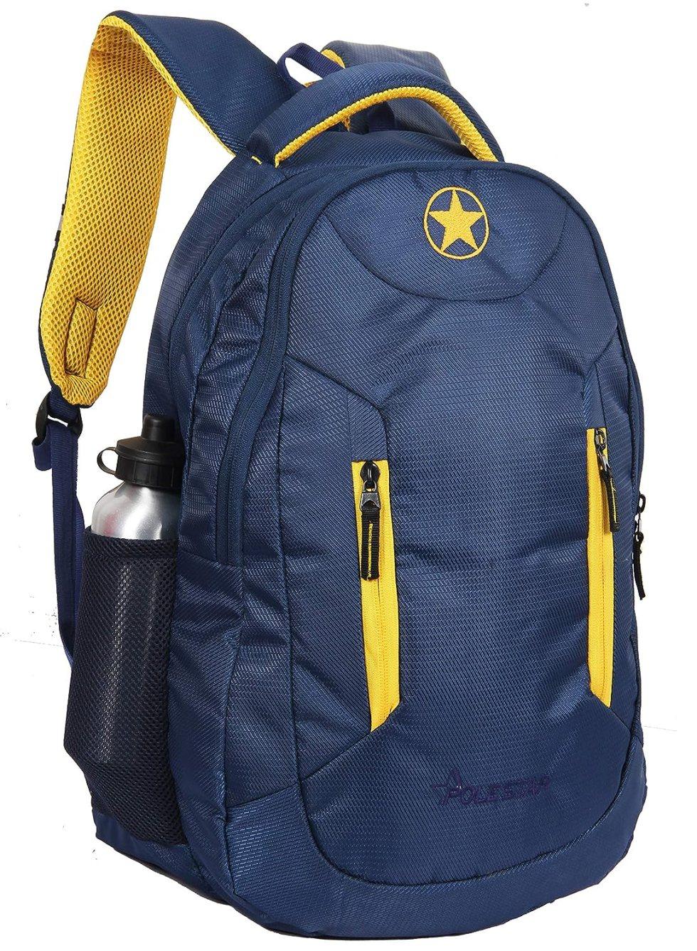 Grand Navy 38 LTR Laptop Travel Backpack/Casual School bag pack under Polestar Travel Bag