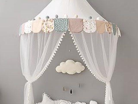 baldachin kinderzimmer betthimmel babybett baldachin kinderzimmer moskitonetz bett baby zelt  spielen zimmerdekoration für babys, mädchen, jungen, mückenschutz nte