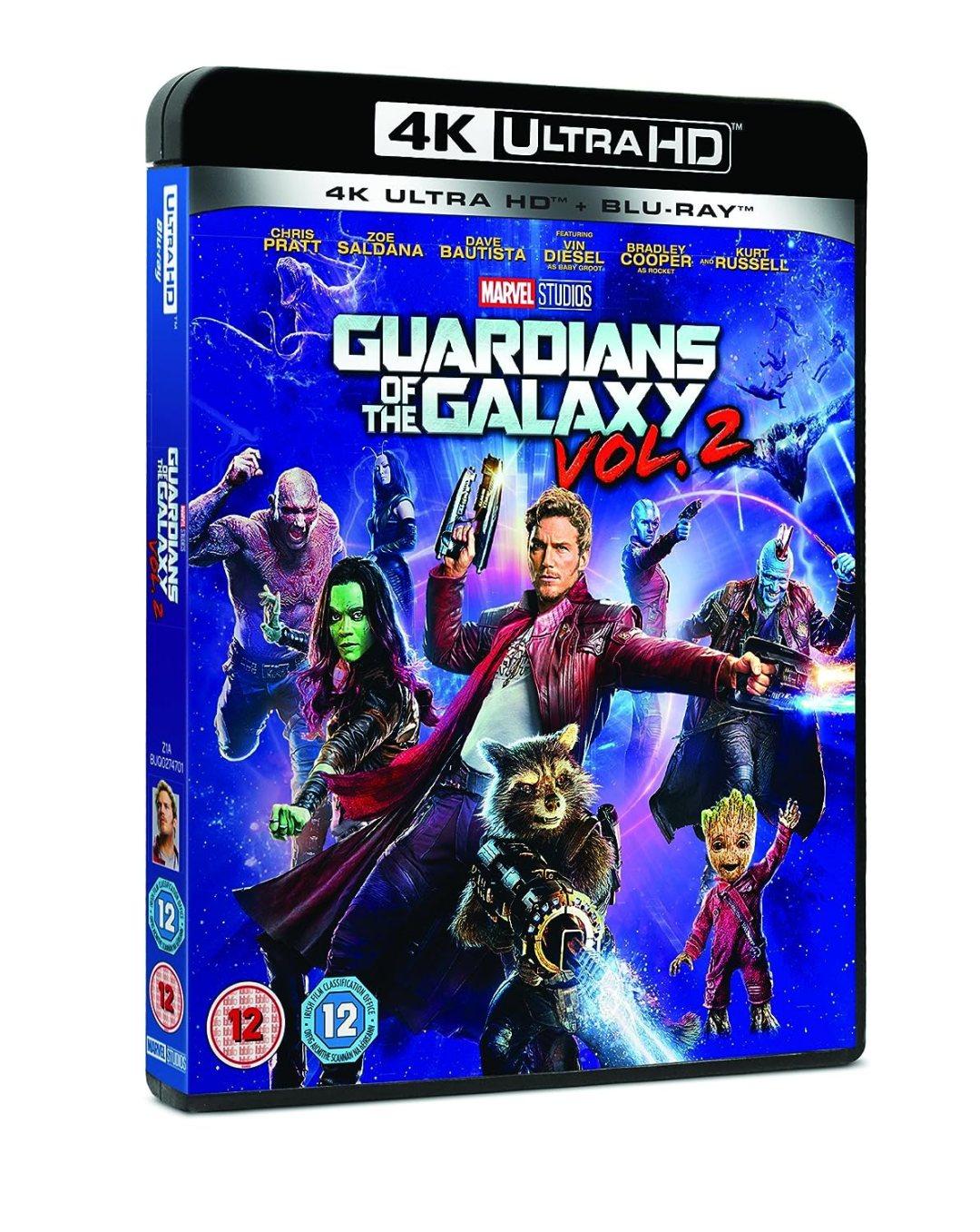 Guardians of the Galaxy Vol. 2 4K Ultra HD