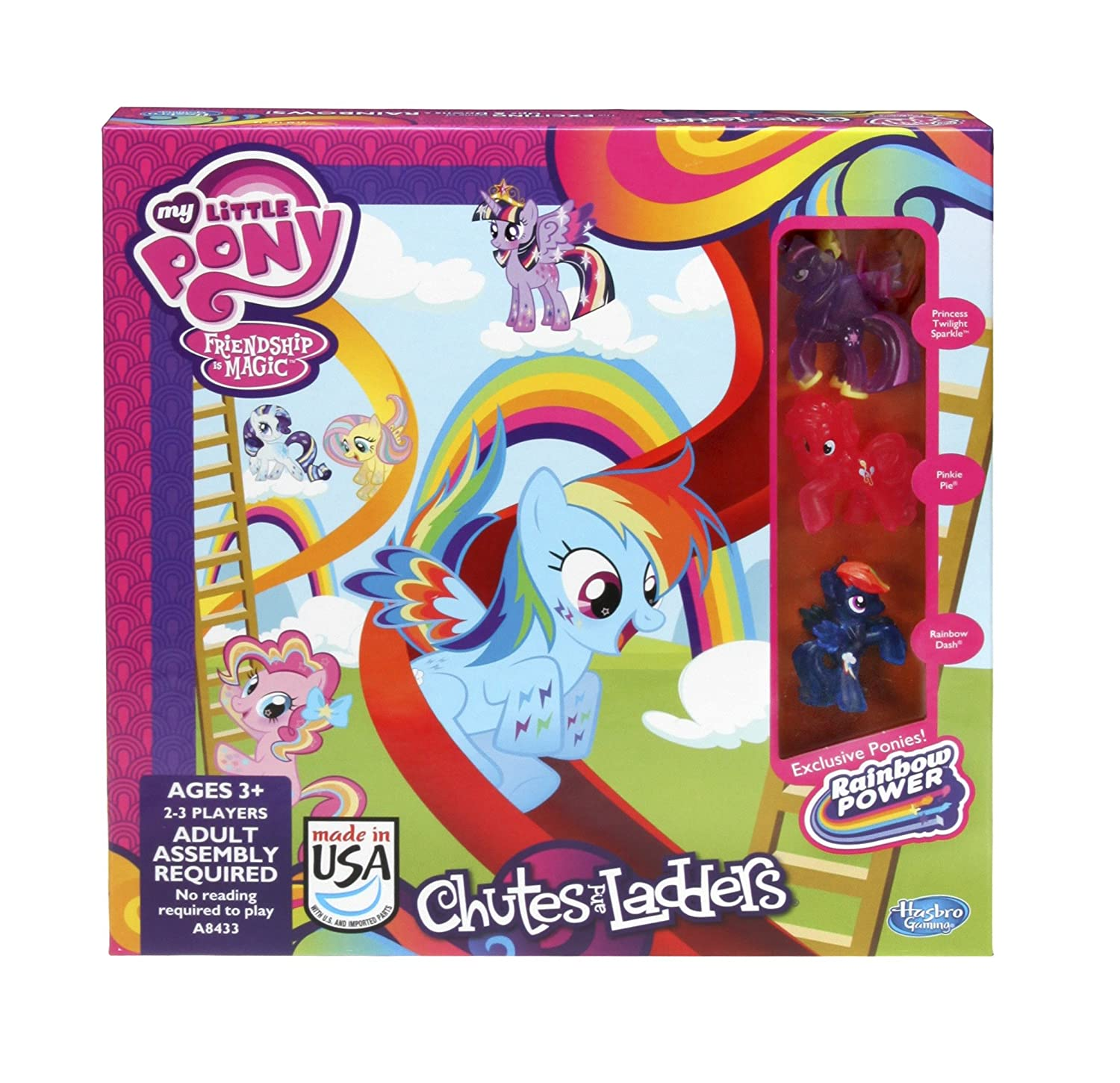 My Little Pony Chutes and Ladders Game