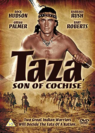 Image result for rock hudson as taza son of cochise poster