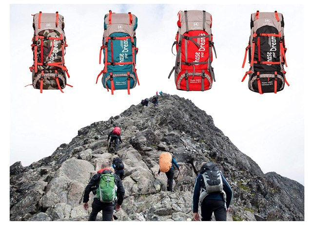 hiking bags in India