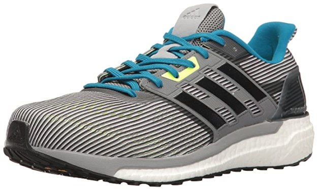 adidas Performance Men's Supernova m Running-Shoes, Vista Grey/Black/Unity Blue, 6.5 Medium US