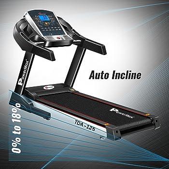 Powermax Fitness TDA-125 Motorized Treadmill