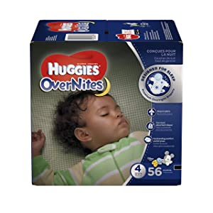 HUGGIES OverNites Diapers 22 37 Overnight