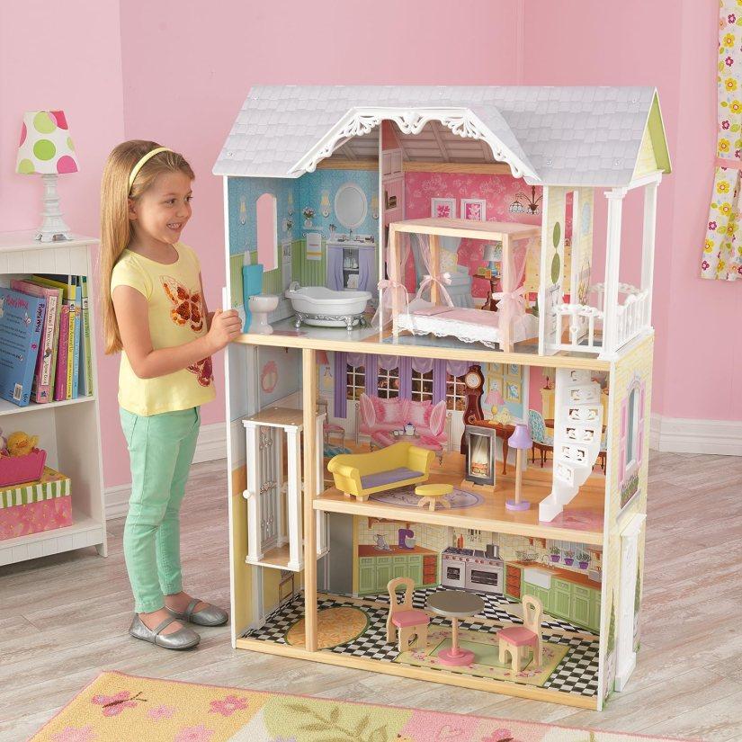 KidKraft 65869 Casa de muñecas de madera