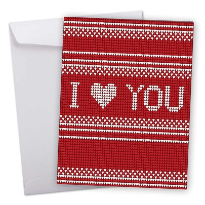 This is one of the best huge Valentine's Day cards!