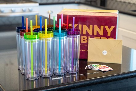 SKINNY TUMBLERS - Best tumbler for smoothies