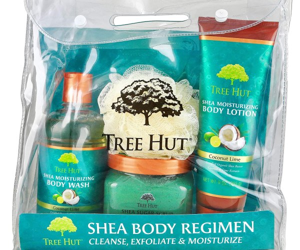 Tree Hut Coconut Lime Shea Body Regimen, 3 Products in one Set