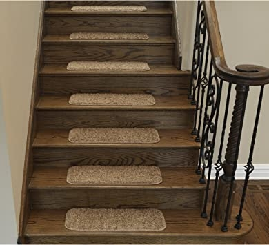Amazon Com Sweethome Stores Non Slip Sh*G Carpet Stair Treads 9 | Carpet For Stairs Amazon | Indoor Stair | Anti Slip | Stair Runner Rugs | Self Adhesive | Beige