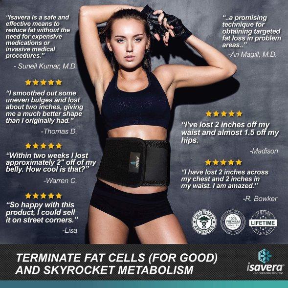 Isavera Fat Freezing System waist trimmer