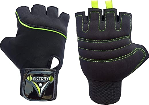 Victory Neo - 05 Skin Fit Gym & Fitness Glove (Green)