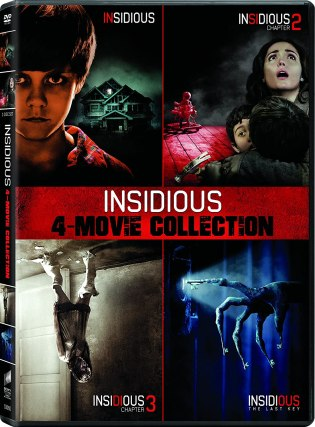 Amazon.com: Insidious / Insidious: Chapter 2 / Insidious: Chapter 3 / Insidious: The Last Key - Set: Wilson, Patrick, Scott, Stefanie, Shaye, Lin: Movies & TV