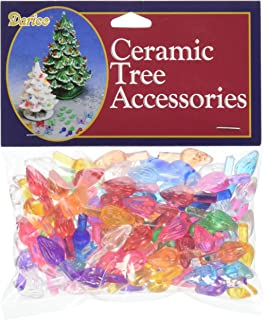 ceramic christmas tree plastic light up twist bulbs medium assorted