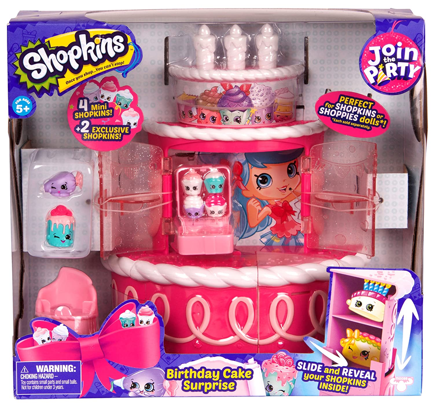 Shopkins Join the Party- Birthday Cake Surprise