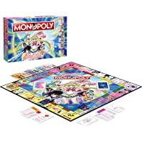 Winning Moves- Monopoly-Sailor Moon-Edizione Italiana