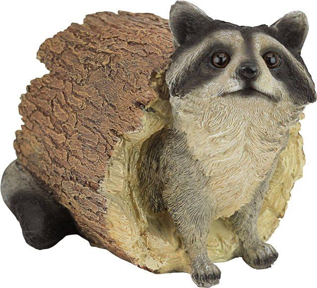 Raccoon Garden Animal Statue