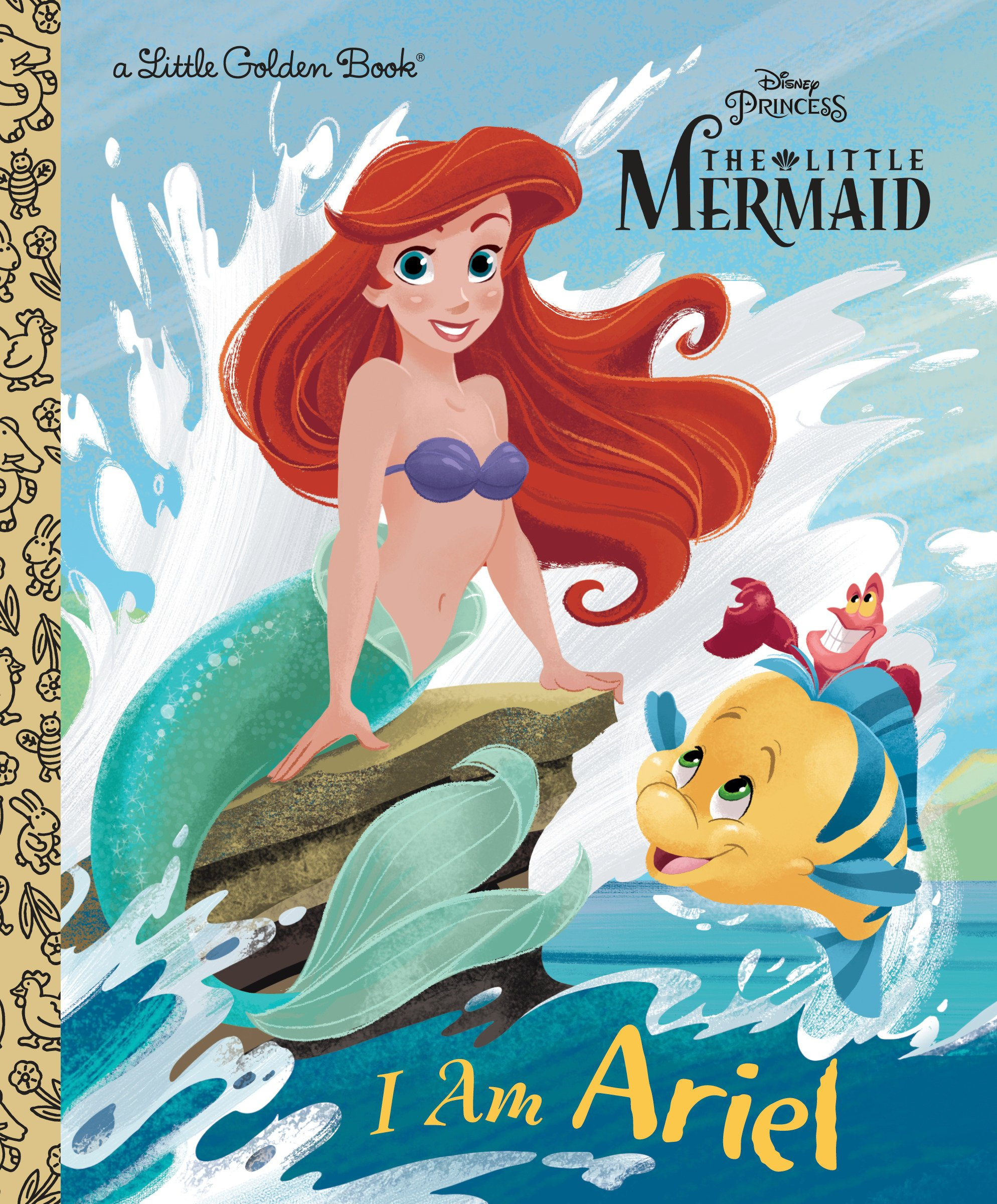 Buy I Am Ariel Disney Princess Little Golden Book Book Online At Low Prices In India I Am Ariel Disney Princess Little Golden Book Reviews Ratings Amazon In