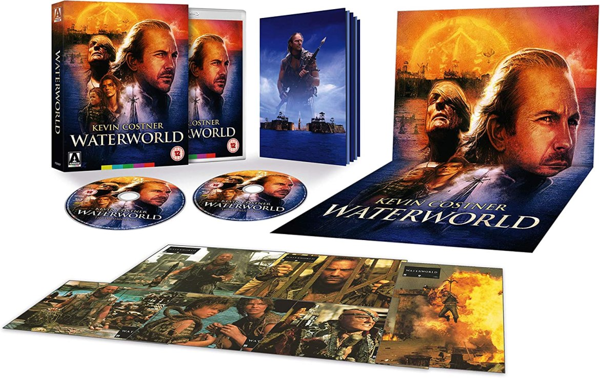 Waterworld Limited Edition [Blu-ray]: Amazon.co.uk: Kevin Costner, Kevin  Reynolds, Kevin Costner: DVD & Blu-ray
