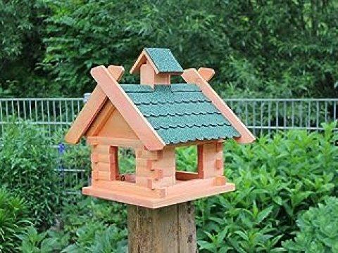 holz und gartentrends holz und gartentrends bird house (v) wooden birds 'house