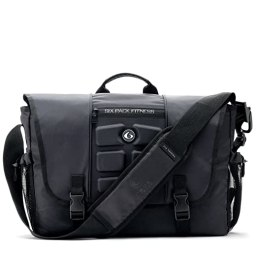 stylish gym bag with laptop compartment