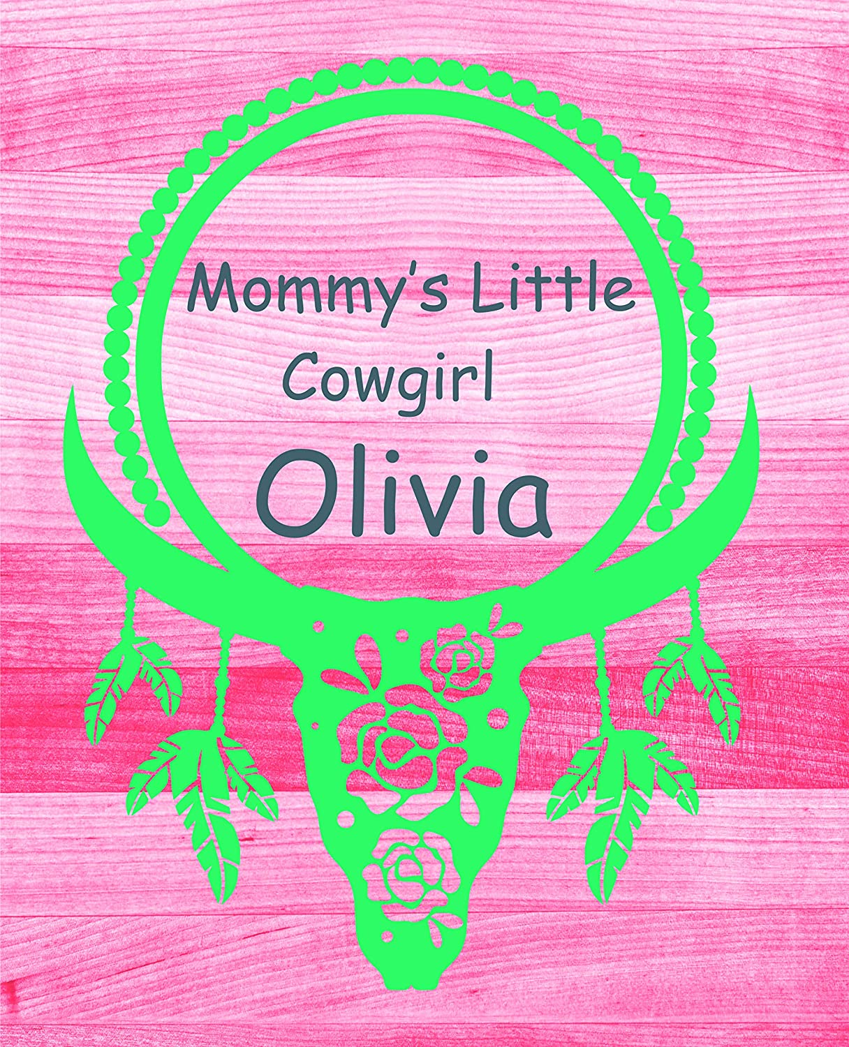 Amazoncom Little Cowgirl County Girls Cowboy Boots Quote