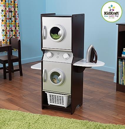 Amazon Com Kidkraft Espresso Laundry Set Toys Games