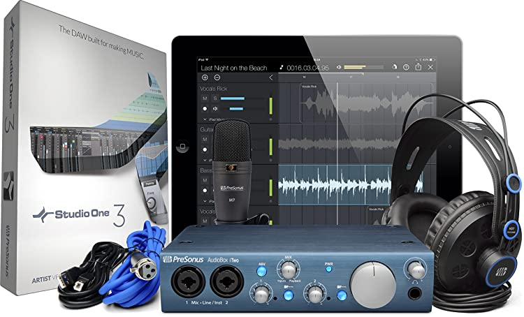 PRESONUS「AudioBox iTwo STUDIO」