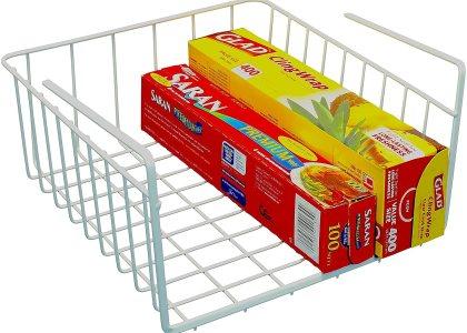 DecoBros Under Shelf Basket Wrap Rack