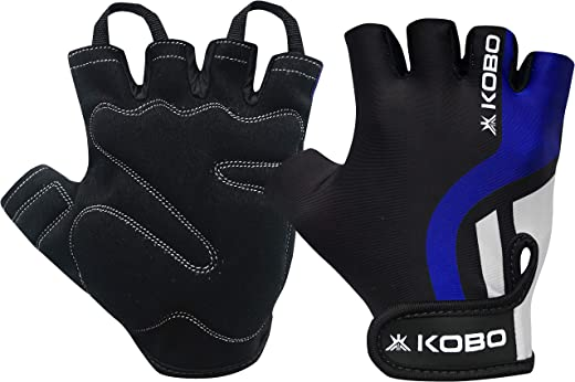 Kobo WTG-26 Weight Lifting Gym Gloves Hand Protector for Fitness Training